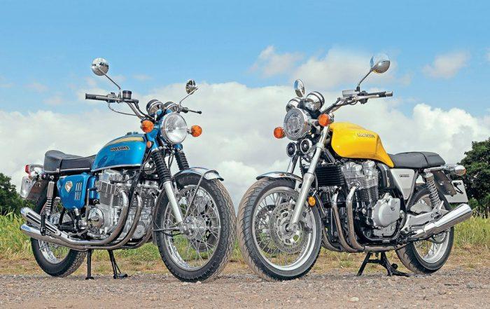 Honda CB750 and Honda CB1100 EX