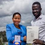 "<span class=""entry-title-primary"">Brian Gitta is Uganda's Top Innovator</span> <span class=""entry-subtitle"">The 24 year old got the African prize for creating Bloodless Malaria Test</span>"