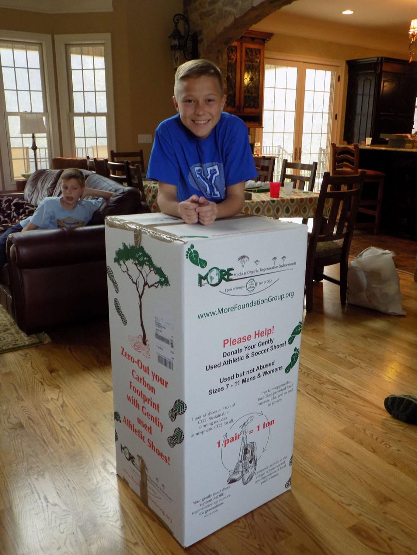Our fist full box ready for return shipment