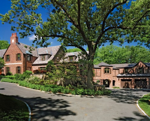 Renovated English Tudor from the 1920s.
