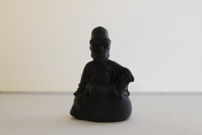 Morehshin Allahyari - Dark Matter Series I - #buddha #Simpson