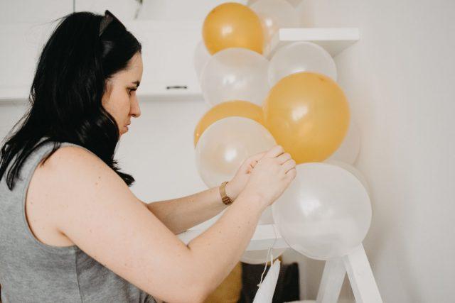 ines dekoracija baloni