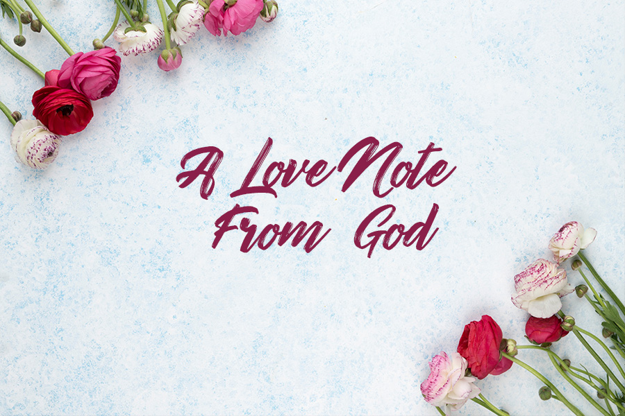 A Love Note From God