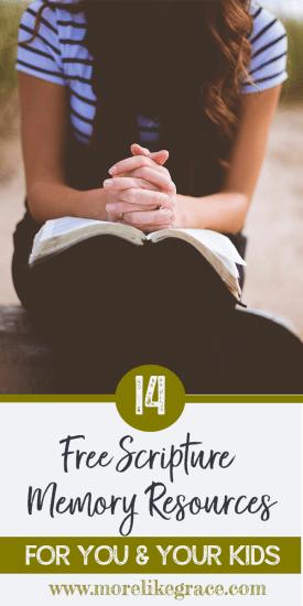 Scripture Memory for Kids