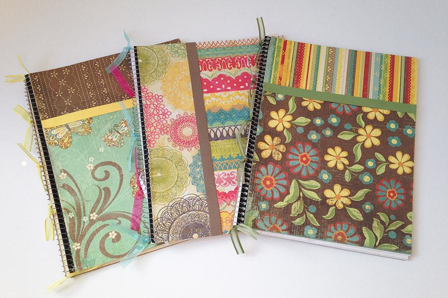 DIY Decorative Notebooks