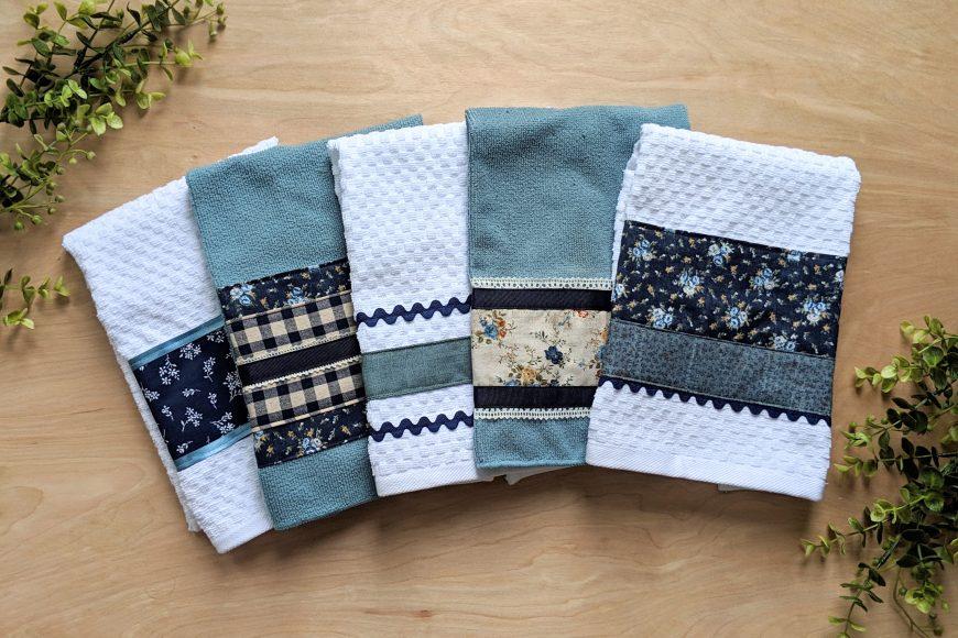 Sew Pretty Dish Towels