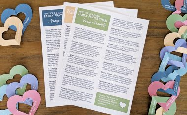"""Heart for the Suffering"" Family Prayer Chain"