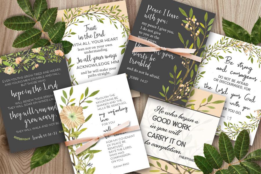 Scripture Cards 2019