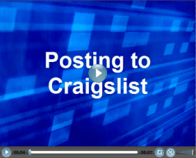Posting to Craigslist   Mortgage Marketing