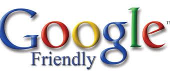 google friendly logo in lots of colors