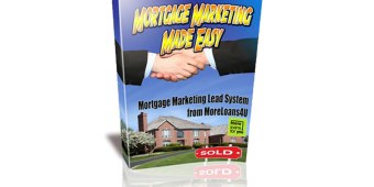a book in 3d says mortgage marketing lead system from moreloans4u. Mortgage marketing made easy