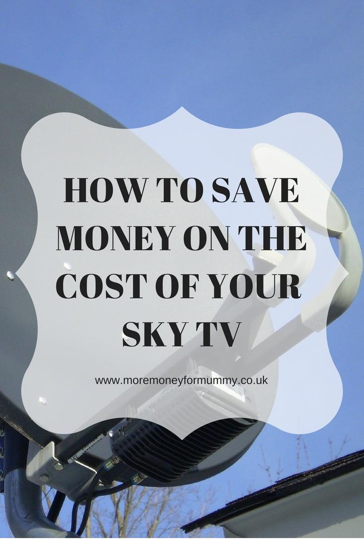 cut the cost of sky tv