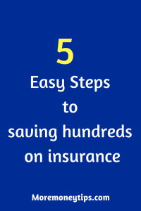 Save Money on Insurance: Five Easy Steps