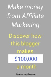 Make money from Affiliate Marketing