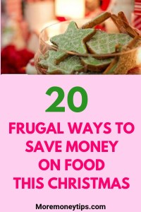 20 frugal ways to save money on food this Christmas