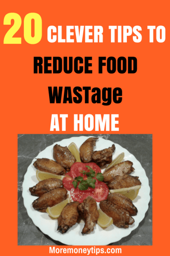 How to reduce food wastage
