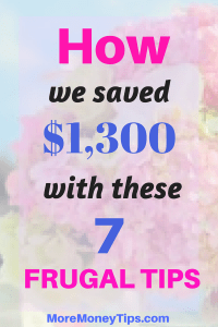 How we saved $1,300 with these 7 smart tips