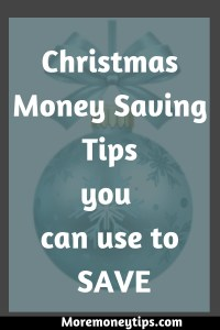 Christmas Money Saving Tips you can use to SAVE
