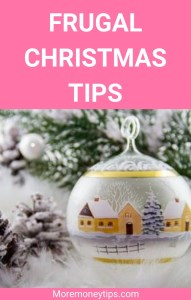 Frugal Christmas Tips to save money