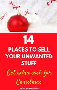 14 places to sell your unwanted stuff -get extra cash for Christmas