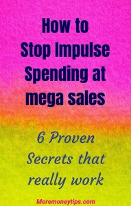 How to stop impulse spending at mega sales. 6 proven secrets that really work