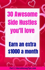 30 awesome side hustles you'll love