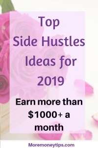 Top Side Hustle Ideas for 2019