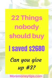 22 things nobody should buy