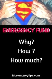 Emergency fund: Why? How? How much?