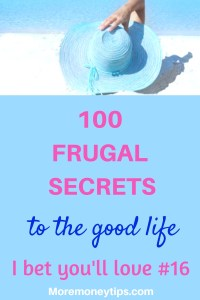 100 frugal secrets to the good life