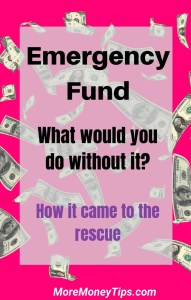 Emergency Fund. what would you do without it