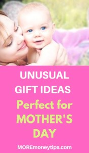 Unusual Gift Ideas. Perfect for Mother's Day.