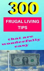 300 Frugal living Tips that are wonderfully easy.
