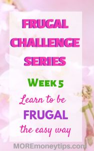 Learn to be frugal the easy way.