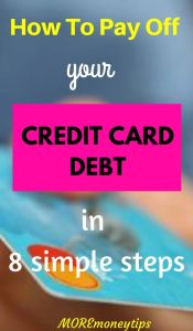 How to pay off credit card debt in 8 simple steps.