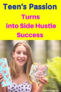 Teen's Passion turns into side hustle success