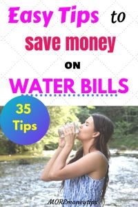 Easy tips to Save Money on Water Bills