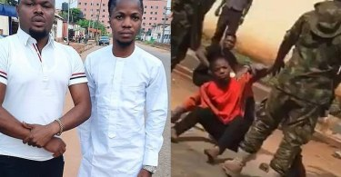 Soldiers Arrested For Beating A Man In Asaba, Delta State