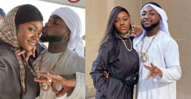 Chioma sends emotional message to her lover Davido on his 28th birthday
