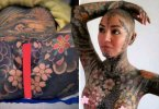 OMG!!! SEE How Woman Tattooed Herself From Head To Toe Including Her Private Parts (Video below)