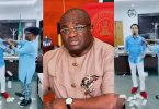 Abia state governor suspends his Chief of Staff for spraying money on Prophet Odumeje in his office (Video)