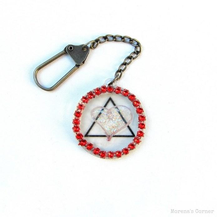 Adoption-symbol-keychain