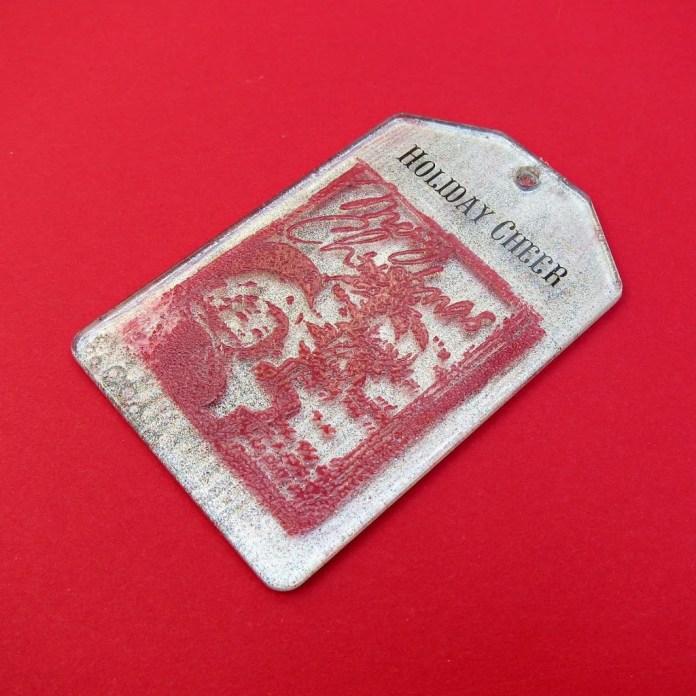 Christmas tags diy