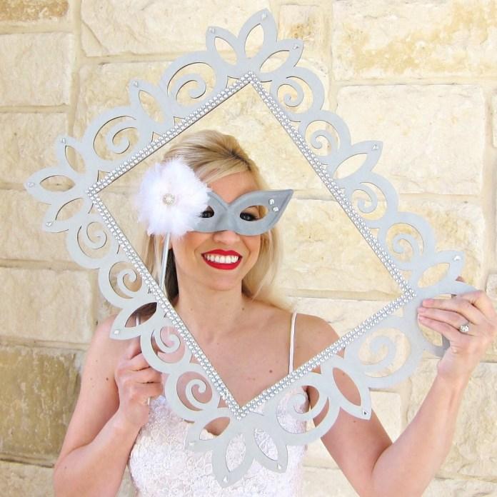 wedding-photo-prop-frame