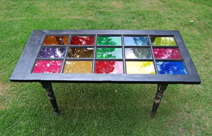 Repurposed-Door-Table