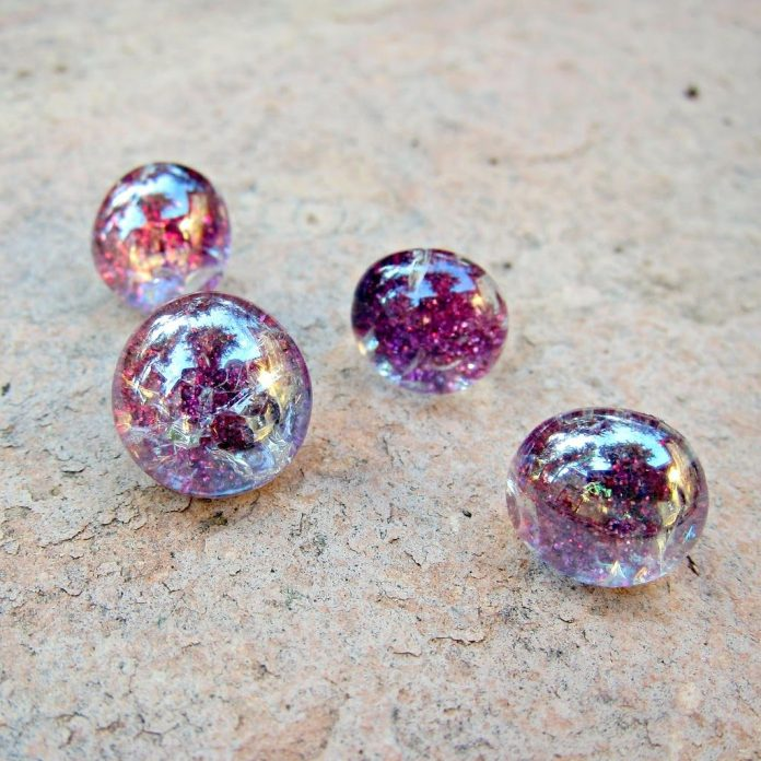 Ombre-Glitter-Glass-Push-Pins
