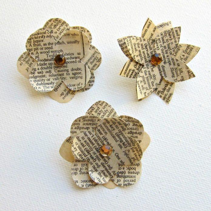 DIY-Paper-Flower-Pins