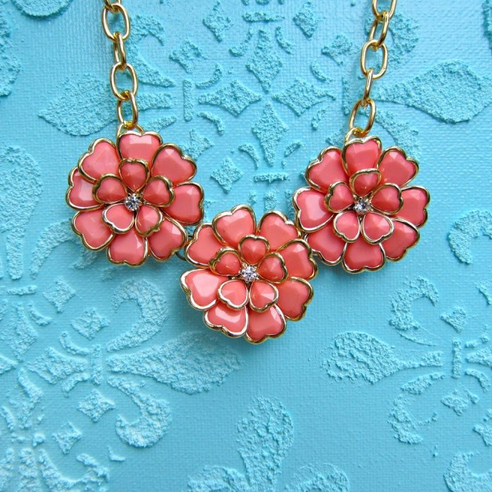 Coral-Flower-Necklace