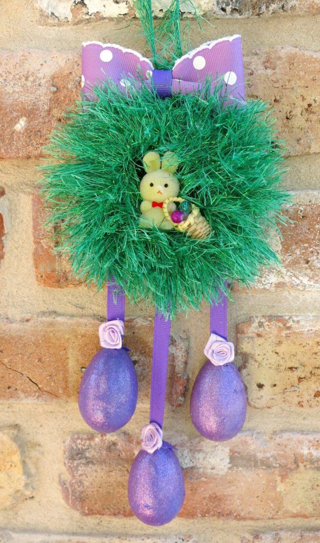 mini wreath craft