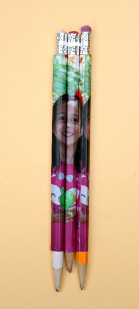 Personalized pencils DIY